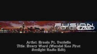 Ercola Ft. Daniella - Every Word (Wendel Kos First Sunlight Radio Edit)