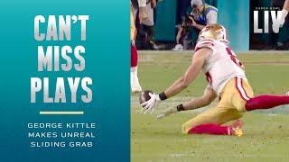 Unreal Sliding Grab Made by George Kittle! | Super Bowl LIV