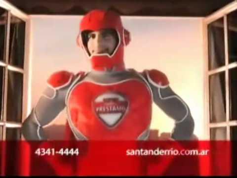 ARIEL PRIETO ACTOR Super Prestamo de Santander Rio