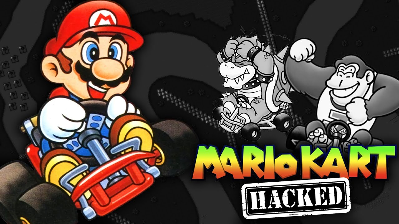 Super Mario Kart Hacks – James and Mike Mondays — Cinemassacre