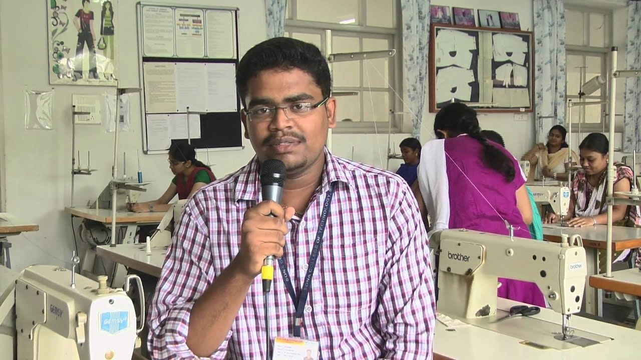 Fashion Technology Students Life At Sona College Of Technology Tamilnadu India Youtube