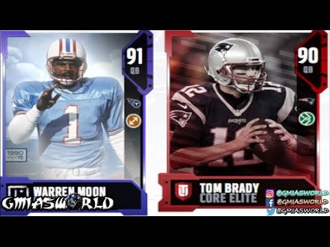 WARREN MOON IS BETTER THAN TOM BRADY AT LAUNCH OF MADDEN 18 ULTIMATE TEAM! OK EA! LMFAO!