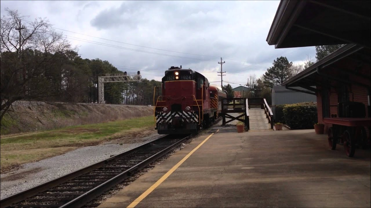 Tennessee Valley Railroad Museum #1824 - YouTube