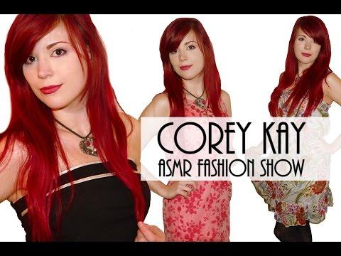 ASMR Dress Up Fashion Show Haul 3 Corey Kay Dress Collection Binaural Ear to Ear Whisper