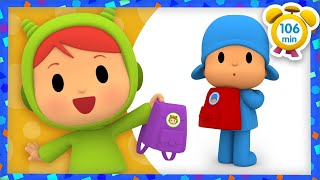 🎒 POCOYO in ENGLISH -School Bags [ 106 minutes ] | Full Episodes | VIDEOS and CARTOONS for KIDS