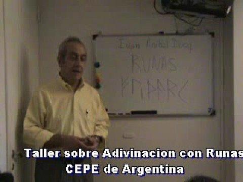 Taller Adivinacion con Runas - CEPE de Argentina