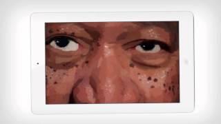 Repeat youtube video Morgan Freeman Finger Painting FAKE?