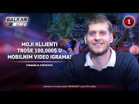 INTERVJU: Strahinja Cvetković - Moji klijenti troše 100.000$ u mobilnim video igrama! (17.6.2019)