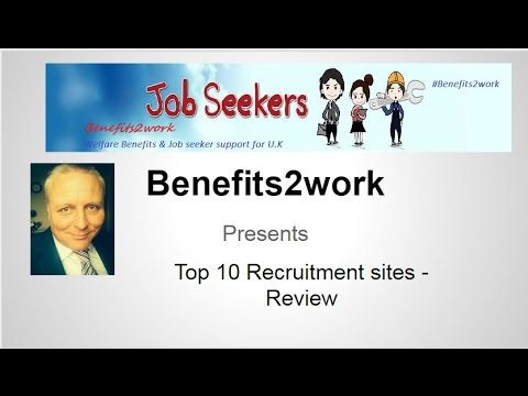 Benefits2work- recruitment web site review u.k job search employment unemployment