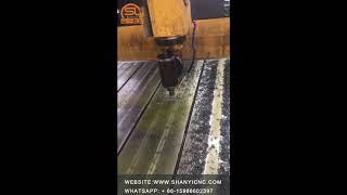 Speed 800 feed 100, material steel