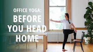 Office Yoga: Before You Head Home | Wild in Tacoma at The Pioneer Collective | Yoga Wild