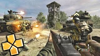 Call of Duty Roads to Victory PPSSPP Gameplay Full HD / 60FPS