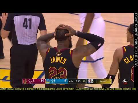 lebron-james-foul-on-kevin-durant-in-the-4th-quarter-game-1-nba-finals-2018