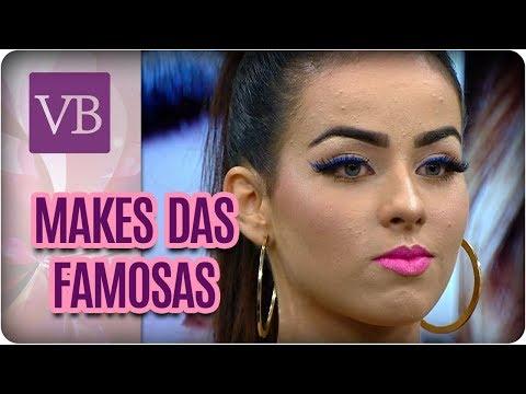 Makes das Famosas: Katy Perry, Gisele Bündchen e Taylor Swift - Você Bonita (22/02/18)