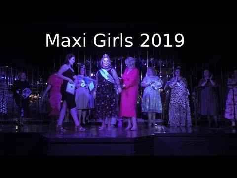 Красавицы Plus Size. Maxi Girls 2019 в кафе Мариус в Москве.
