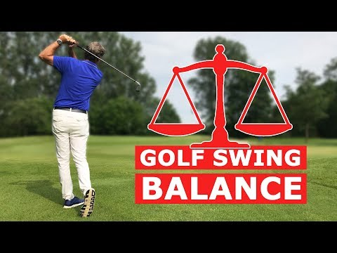 Golf swing balance – Basics of a good golf swing