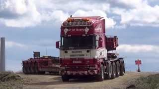 Scania V8 Triple drive. West of Scotland Heavy Haulage Scania V8.