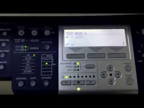 Toshiba copier estudio 182 181 195 212 224 toner install code 02. toshiba fotokopi makinesi toner