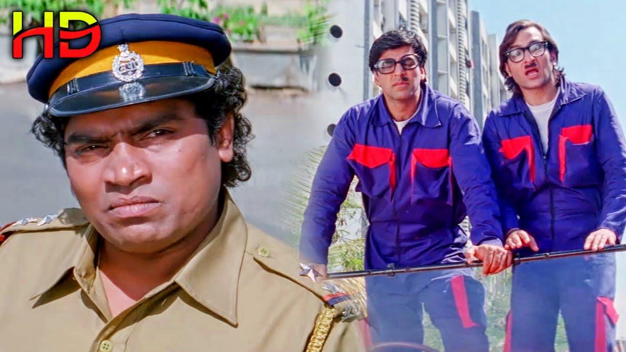 जॉनी लीवर ने जब अक्षय कुमार और सैफ अली खान को चोरी करते हुए पकड़ लिया   लोटपोट कर देने वाली कॉमेडी