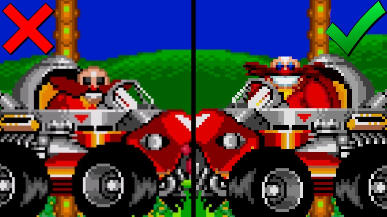 Eggman Mania and Eggman 2 Have Switched Roles