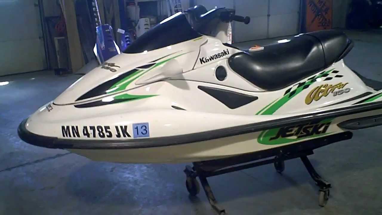 LOT 1233A 2002 Kawasaki ULTRA 150 Jet Ski with 115 Hours - YouTube