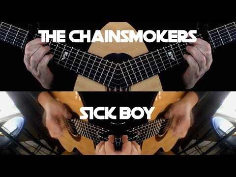 Kelly Valleau - Sick Boy (The Chainsmokers) - Fingerstyle Guitar