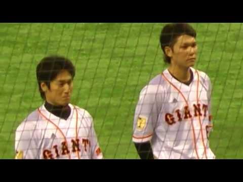【ジャイアンツ】坂本・片岡 表彰式「1000本安打達成」
