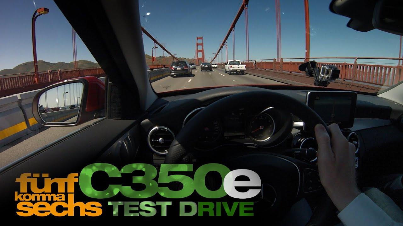 Mercedes C350e vs Evo II on the Streets of San Francisco German