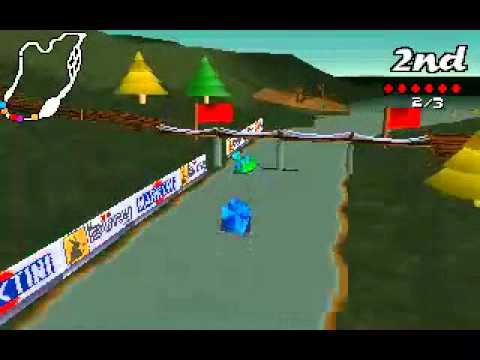 Big red racing pc 1996 gameplay youtube for Big red racing