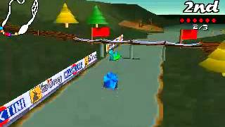 Big Red Racing [PC][1996] Gameplay