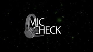 Streamer Showmatch Mic Check