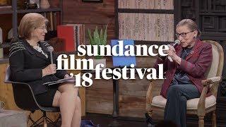 Cinema Cafe with Ruth Bader Ginsburg & Nina Totenberg