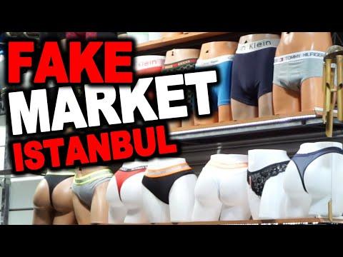 FAKE MARKET in ISTANBUL TURKEY!