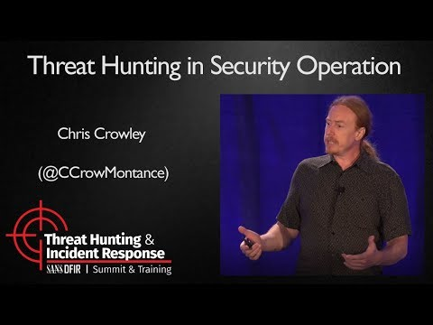 Threat Hunting in Security Operation - SANS Threat Hunting Summit 2017