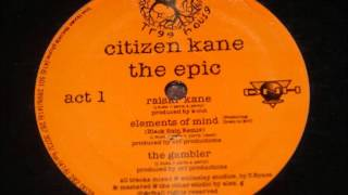 Citizen Kane - Elements Of Mind (Instrumental)
