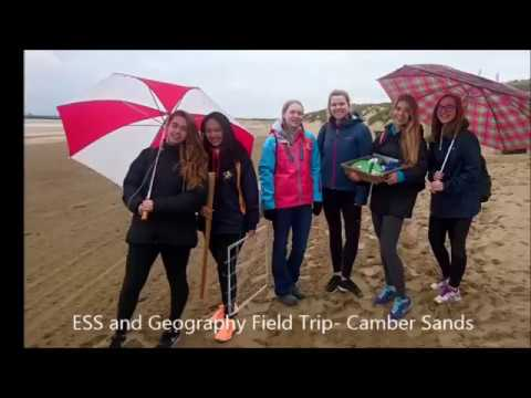 Cobham Hall: Year 12 ESS and Geography Camber Sands Field Trip