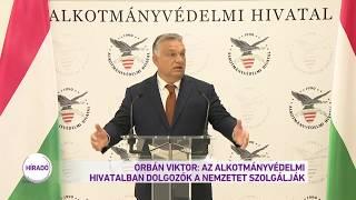 Orbán Viktor: az Alkotmányvédelmi Hivatalban dolgozók a nemzetet szolgálják