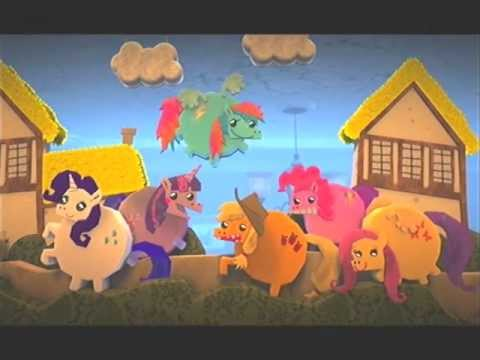 my little pony racing is magic trailer lbp2 game youtube