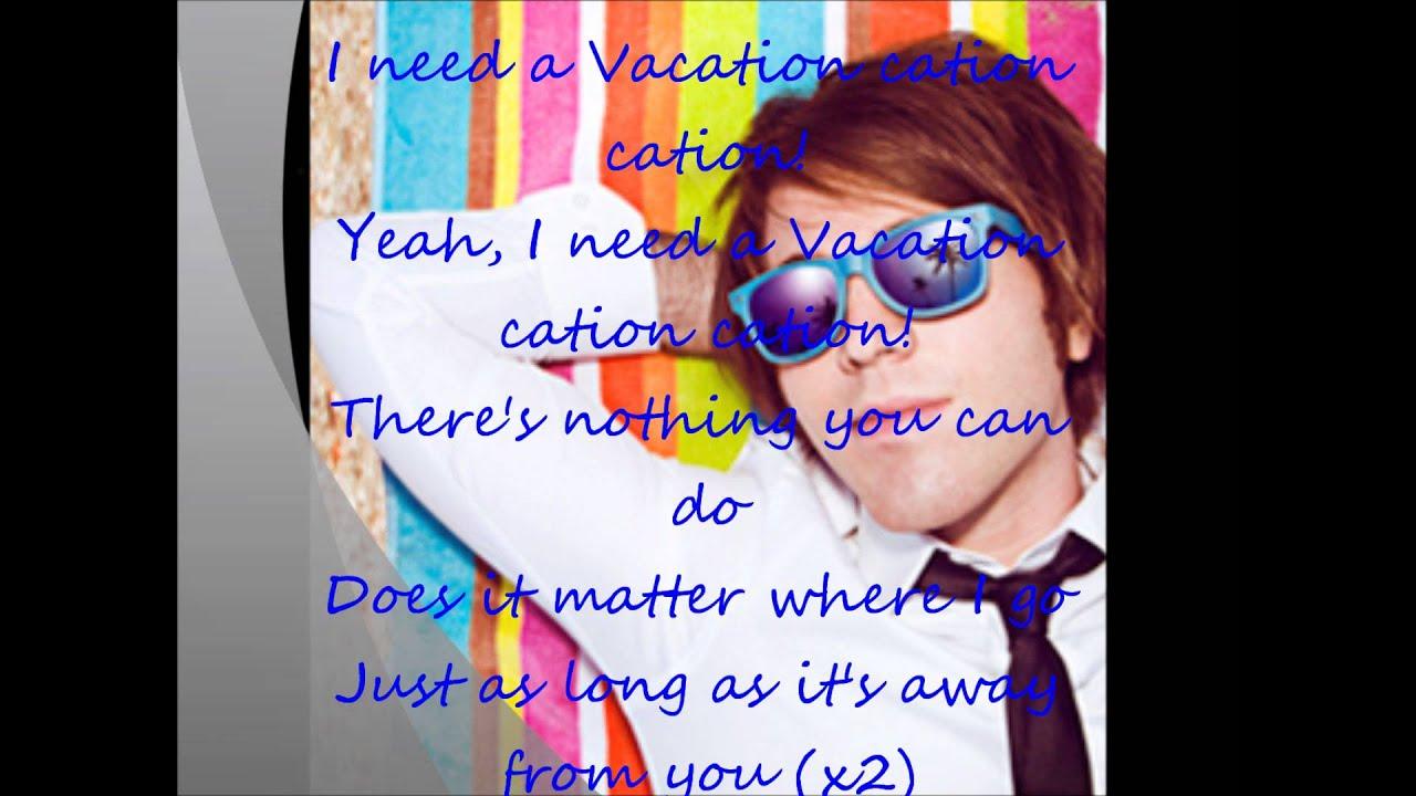 Shane Dawson - The Vacation Song Lyrics HD - YouTube