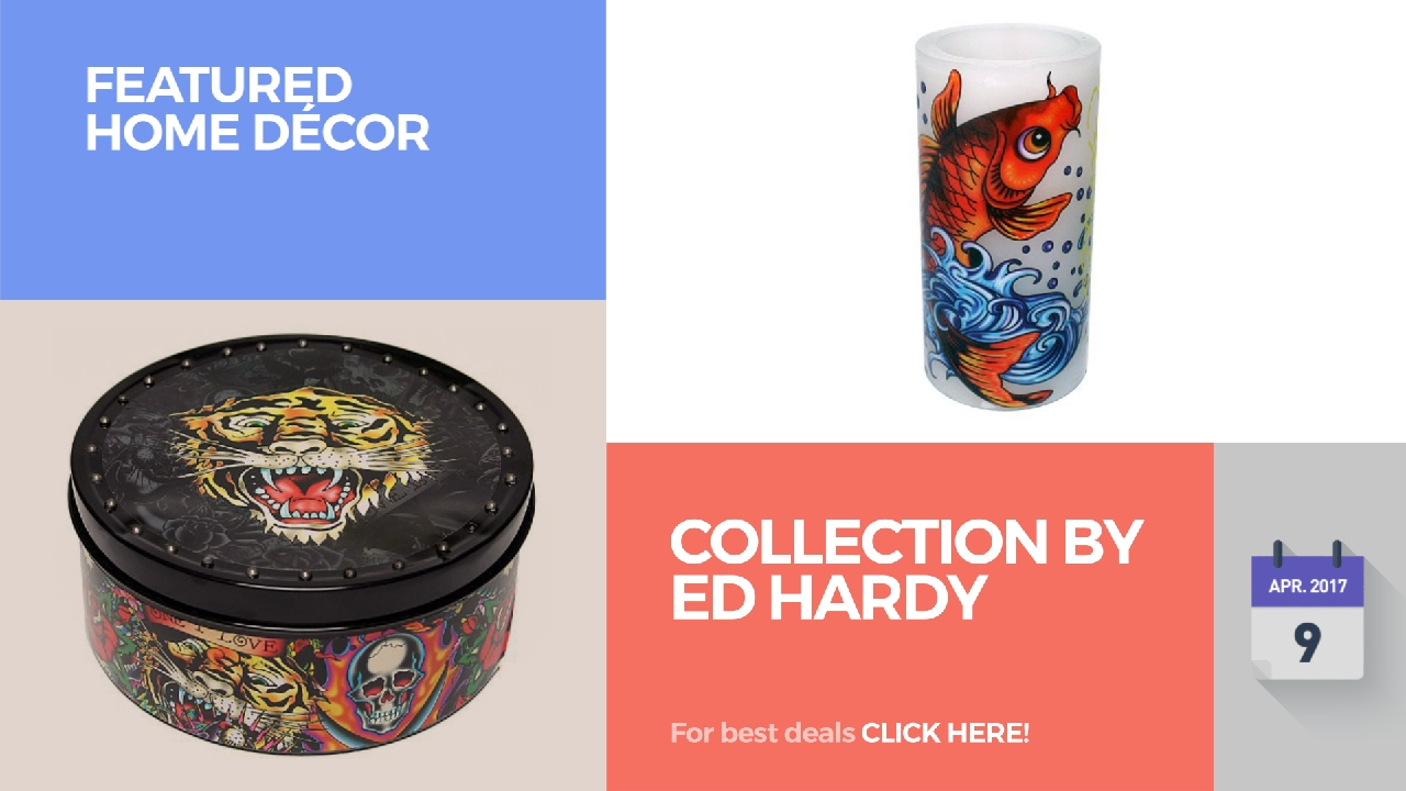Collection By Ed Hardy Featured Home Décor