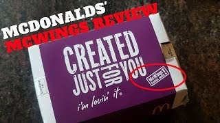 McDonald's McWings Taste & Review | South India Specific |