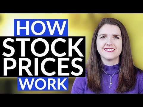 WHAT MAKES STOCK PRICES GO UP AND DOWN - How Stock Prices Work (Investing For Beginners)