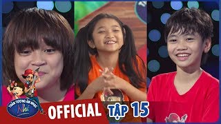 vietnam idol kids 2017 - top 3 tra loi phong van ngo nghe