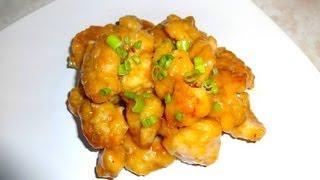Pollo A La Naranja Estilo Chino - Mi Receta
