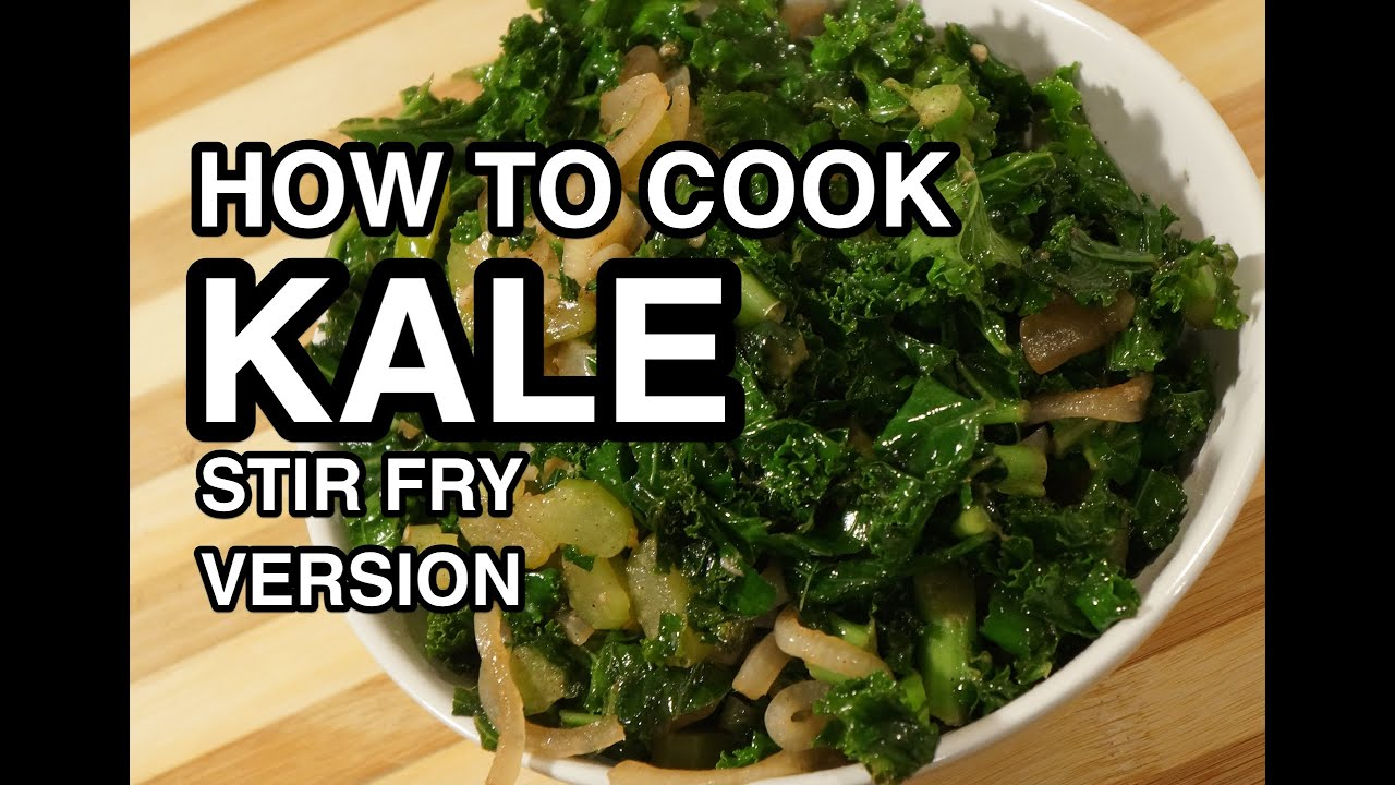 How to Cook Kale - Stir Fry Version - Calovo Nero - YouTube