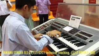 Dionisius Clyde - YEC World Campion - tutorial Yamaha Stagea ELS 20 / ELS 20C1