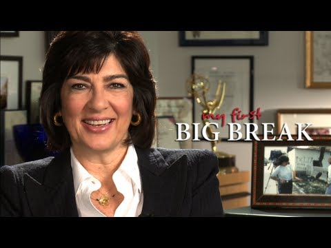Christiane Amanpour: My First Big Break