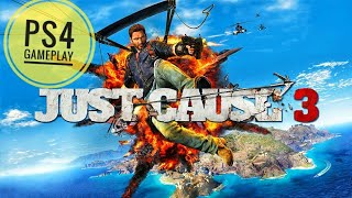 Just Cause 3 (PS4) Gameplay