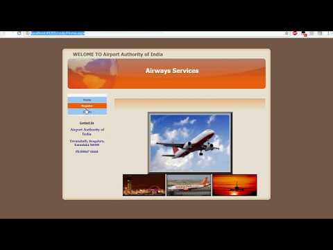 Aeronautical Fixed Telecommunication Network Asp.Net Application demo