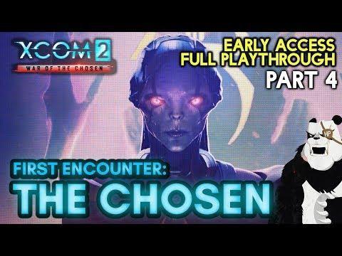 THE CHOSEN - First Encounter [#4] XCOM 2: War of the Chosen with HybridPanda
